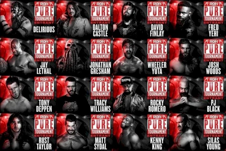 Ring of Honor Pure Championship Tournament Competitors Announced