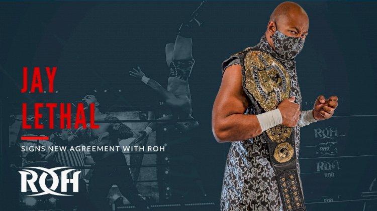 Former Ring of Honor World Champion re-signs with company