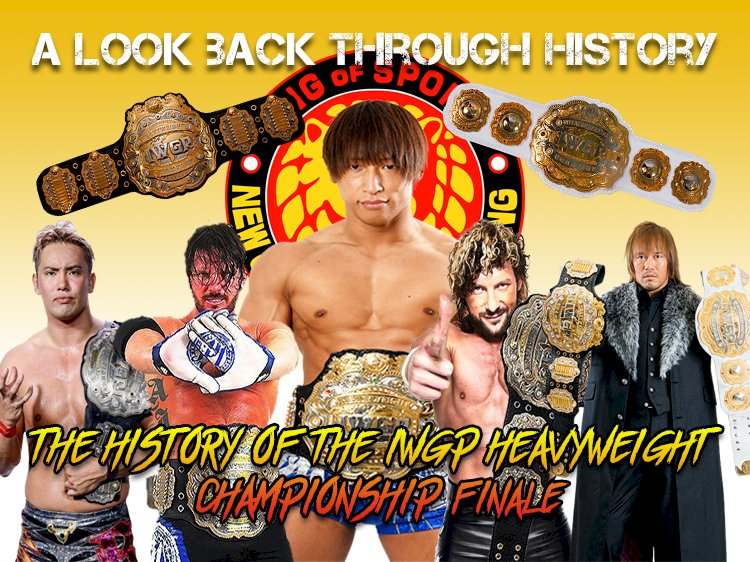 A look back through history: The IWGP Heavyweight Championship (Finale)