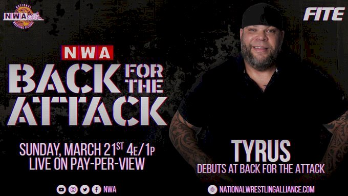 Former WWE superstar announced for NWA: Back For The Attack.