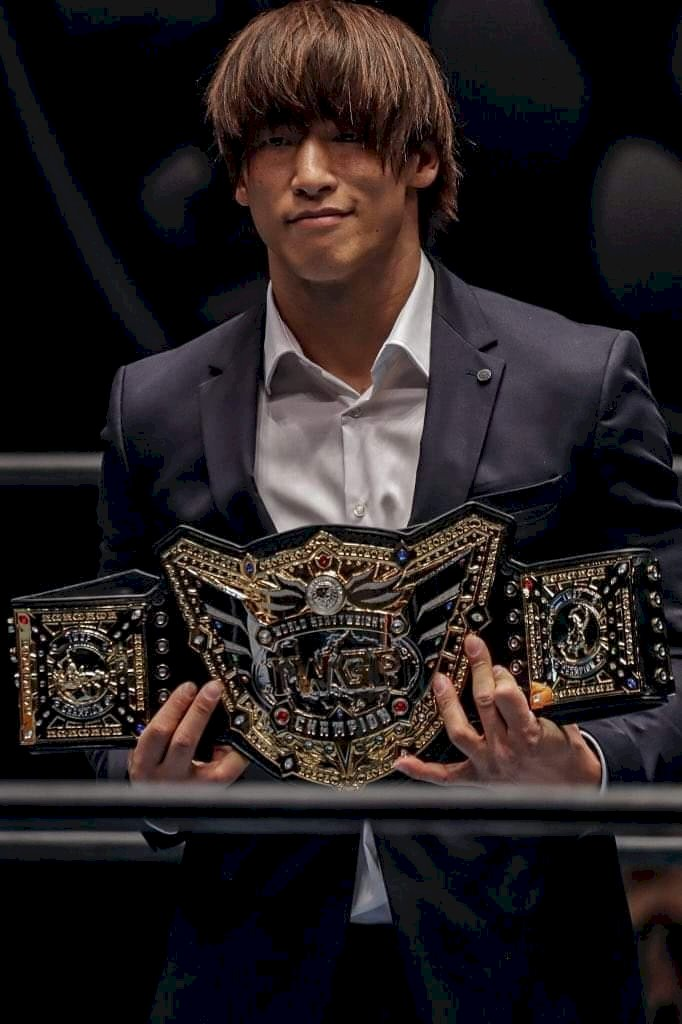 NJPW have explained the idea behind the new title design.