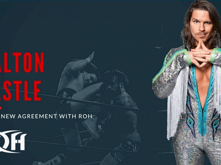Dalton Castle re-signs with Ring Of Honor.