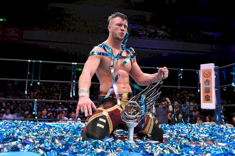 Former IWGP World Heavyweight Champion Will Ospreay Confirms Long-Term Commitment to NJPW