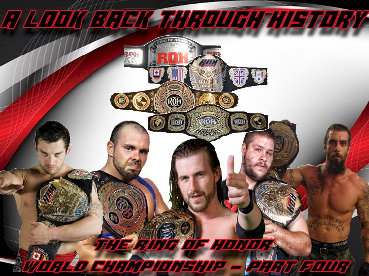 A look back through History: The Ring of Honor World Championship - Part Four