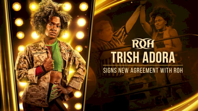 """""""The Afro-Punk' Trish Adora Is coming to ROH"""