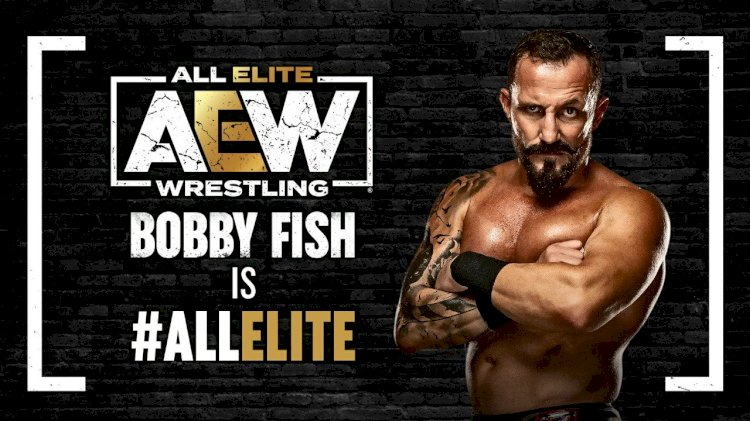 Bobby Fish signs with AEW
